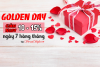 Golden day - Sale off 10 đến 15%
