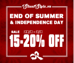END OF SUMMER & INDEPENDENCE DAY
