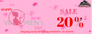 HAPPY VIETNAM WOMEN'S DAY 20/10